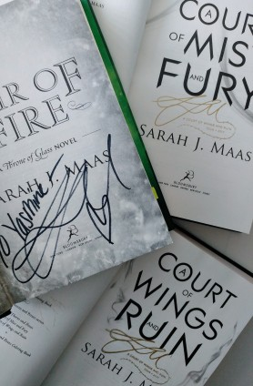 Signed Maas Books