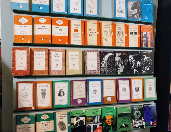 A wall of classics